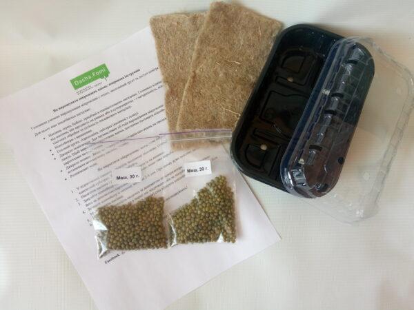 Набор для выращивания микрозелени Маш